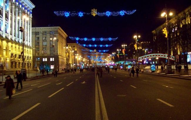 Ко Дню святого Николая Крещатик будет гореть и сиять по новогоднему