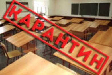 В 10-ти школах Киева отменили занятия из-за гриппа