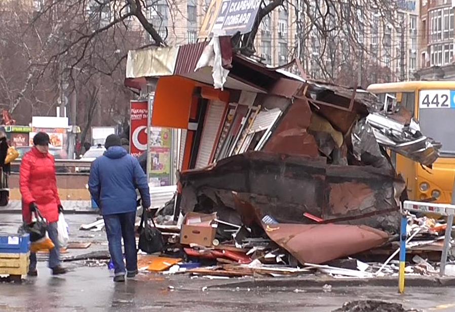 Беспредел в Киеве на КПИ: уничтоженные МАФы неделю спустя
