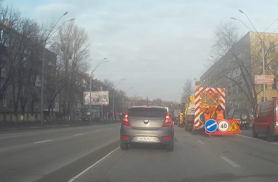 """Снег в Киеве """"растаял"""" вместе с асфальтом"""