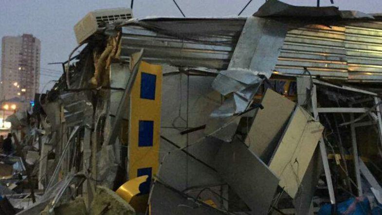 В Киеве еще и на Троещине уничтожили МАФы