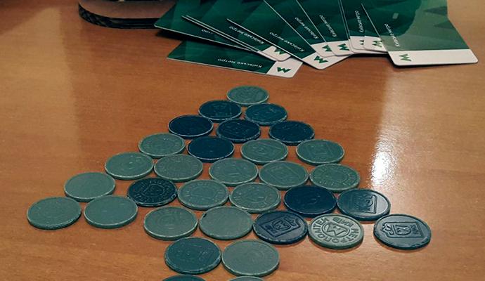 В Киевском метро уменьшится количество жетонов