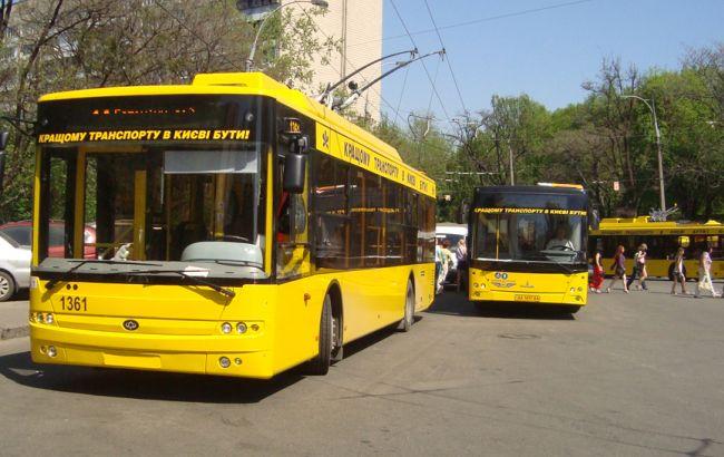Цены на проезд в транспорте Киева поднимать пока не собираются