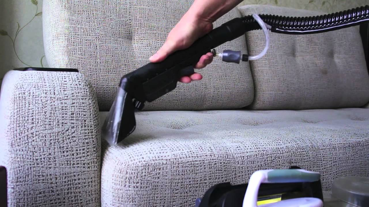 Как проводится химчистка мебели?