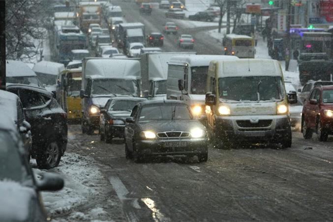 Новый год в Киеве пройдет в слякоти и тепле