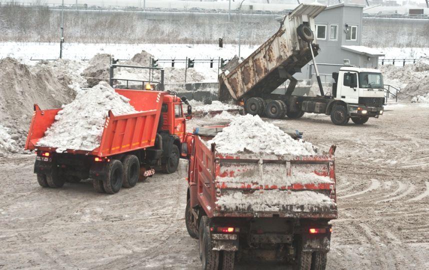 В Киеве могут построить снегоплавильный пункт