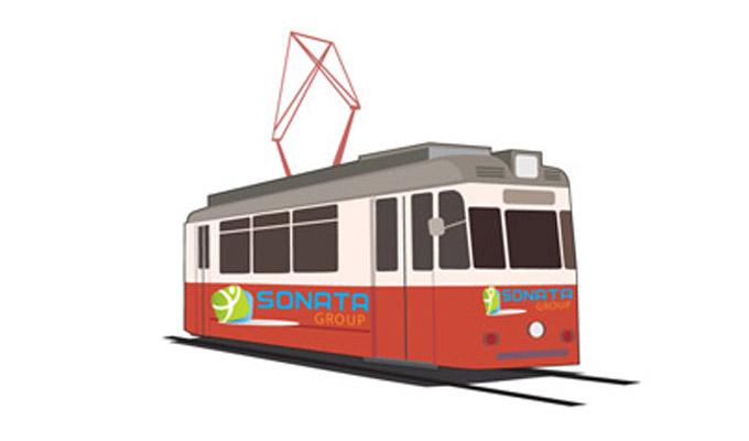 В чем причина эффективности рекламы на трамваях?