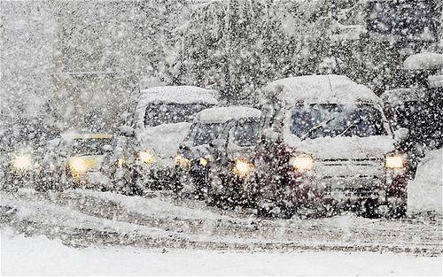 6 февраля на Киев обрушится сильный снегопад