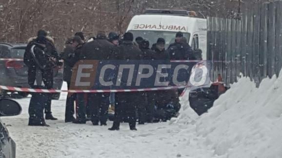Утром в Киеве на улице застрелили мужчину
