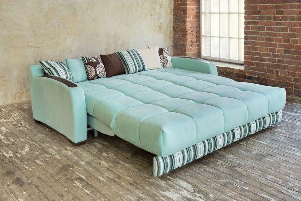 Для смарт-квартир идеально подходит диван-кровать