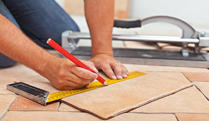 Укладка плитки: чем лучше резать - стеклорезом или плиткорезом