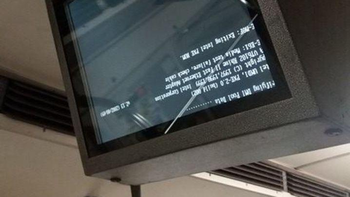 В вагонах метро могут демонтировать мониторы