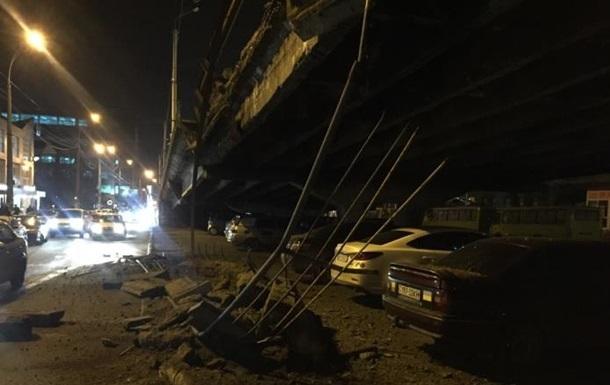 В Киеве не нашли аварийных мостов и дорог