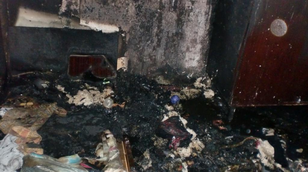В Киеве во время пожара погиб маленький мальчик