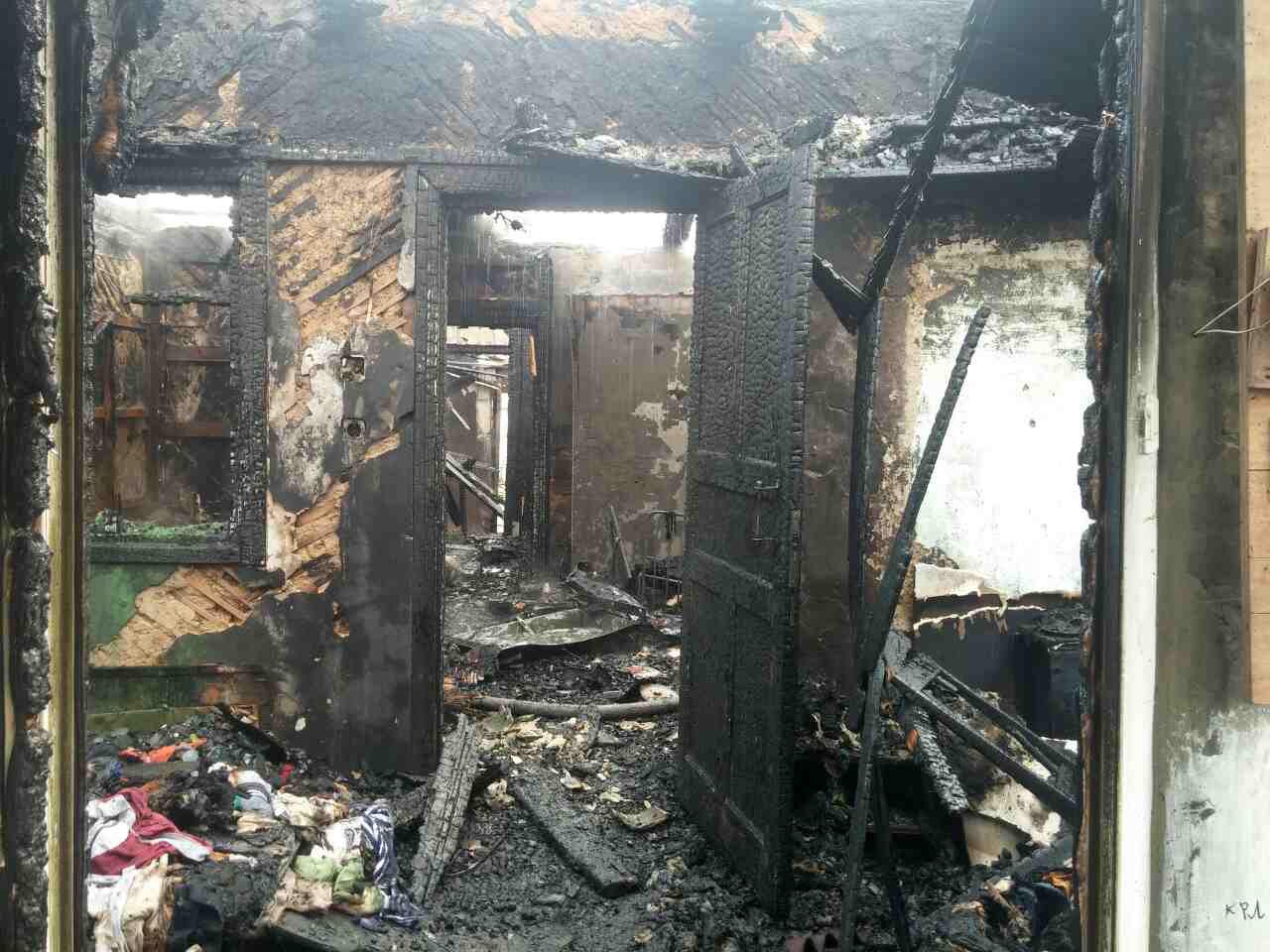 На Киевщине шестеро детей попали в огненную ловушку по вине пьяных взрослых