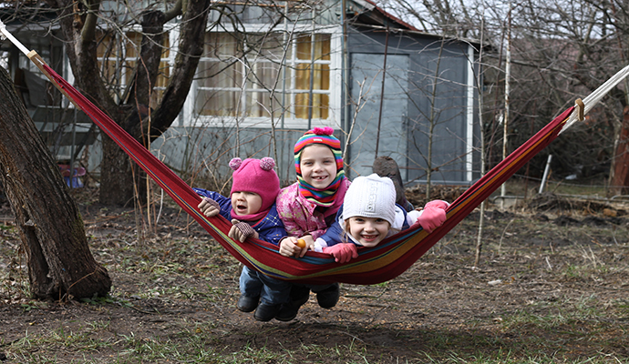 В чем отличие детских гамаков от взрослых?