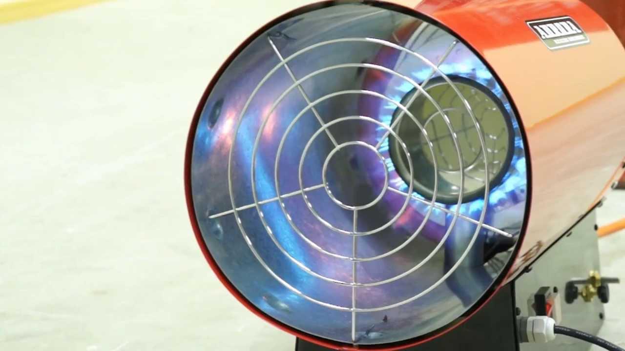 Газовые тепловые пушки – эффективный обогрев жилых помещений