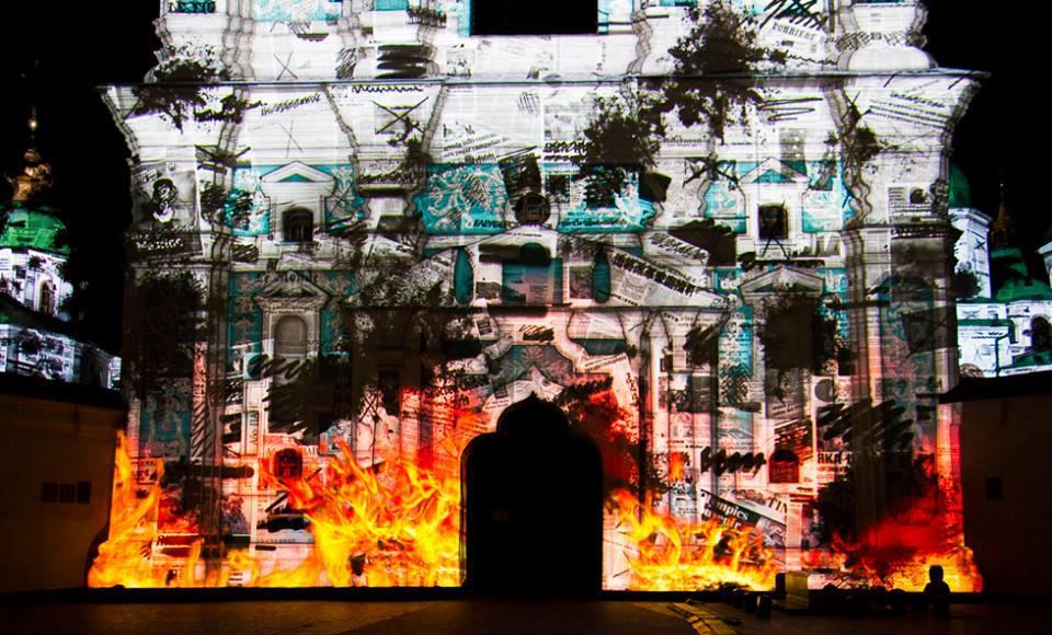 Во время Евровидения в Киеве состоится 3D-лазерное шоу