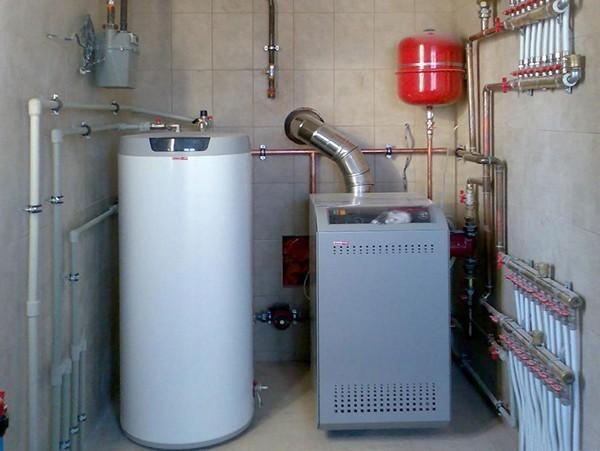 Теплоаккумулятор или буферная емкость для котлов отопления