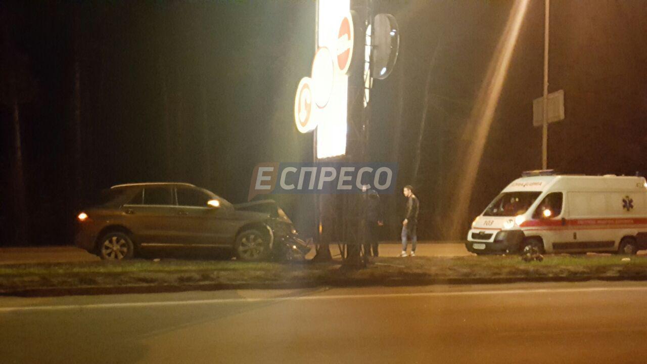 Пьяная киевлянка попала с 5-летним ребенком в ДТП