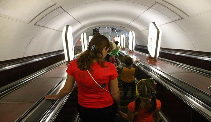 """В Киевском метро произошел """"мега"""" несчастный случай"""