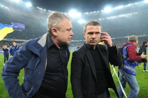 Судьба Реброва решится в конце Чемпионата - И.Суркис