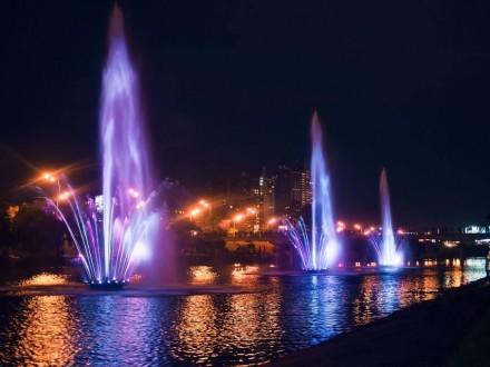 Летом на Русановке заработают еще четыре фонтана