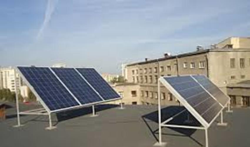 На крыше киевского дома установят первую солнечную станцию