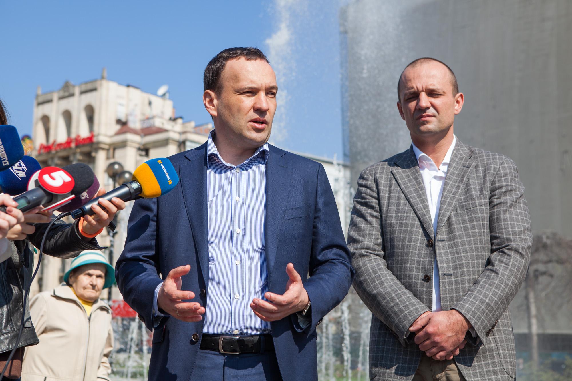 За фонтанами в центре Киева будут следить через видеокамеры