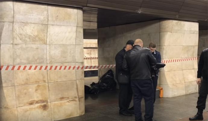 В киевском метро внезапно умер пассажир