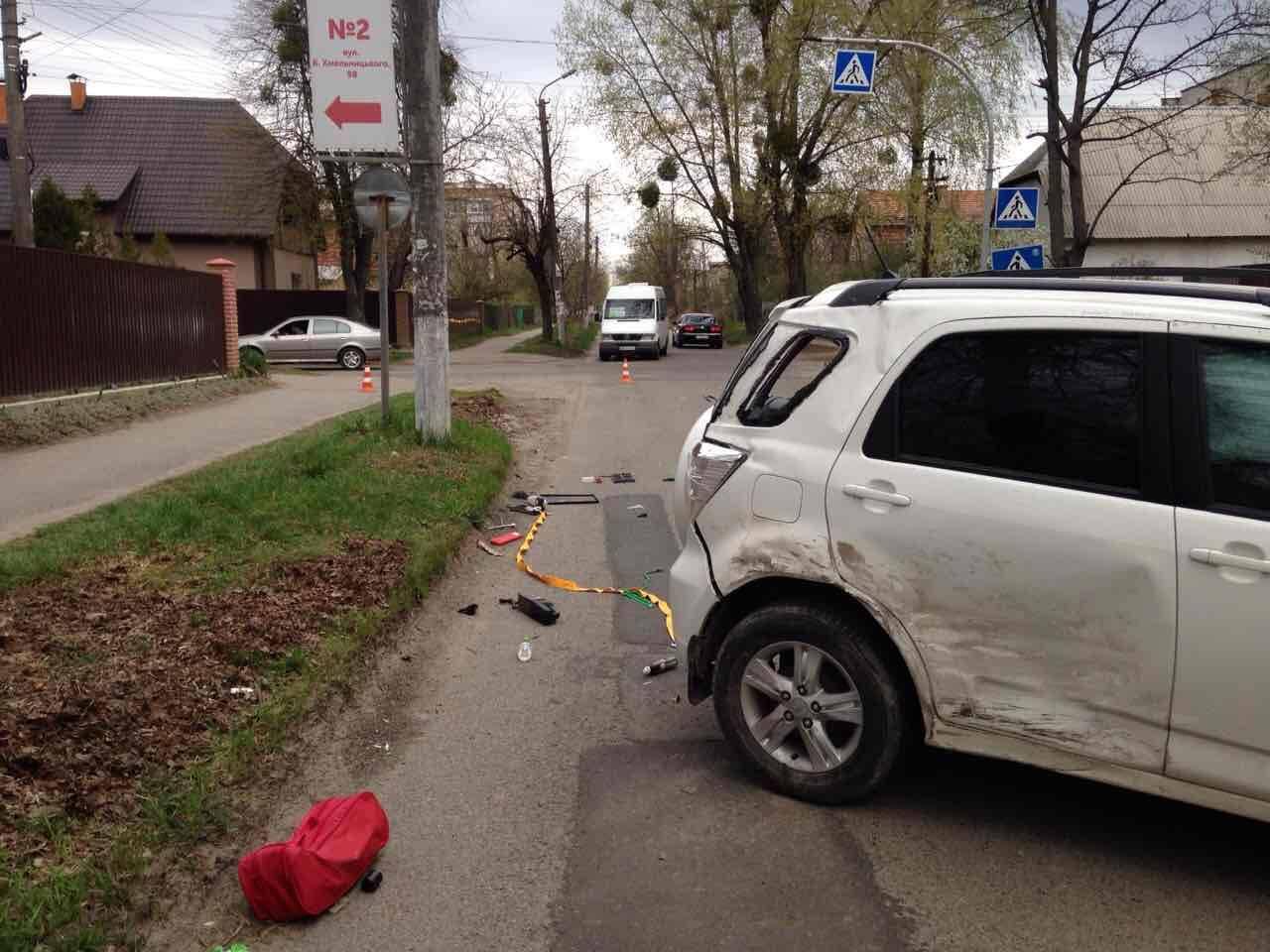 На Киевщине в ДТП пострадал двухлетний ребенок