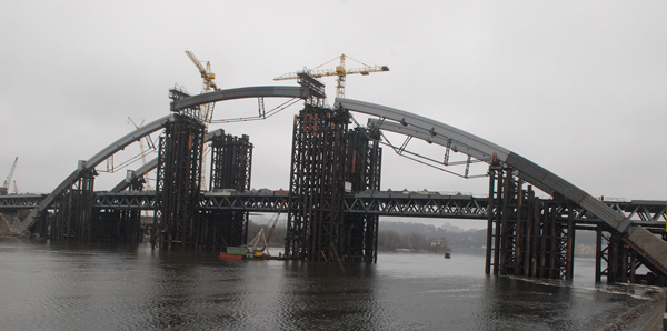 Кличко уверен, что сможет ввести Подольско-Воскресенский мост в эксплуатацию