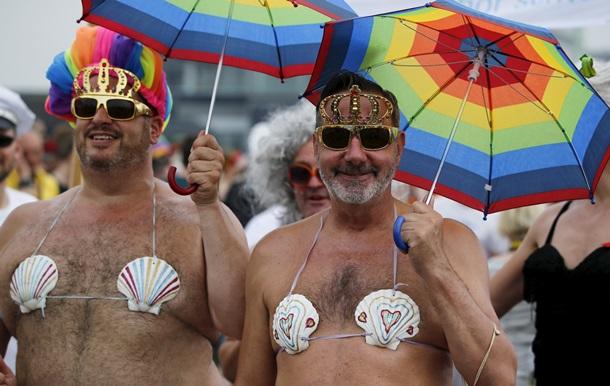 В центре Киева пройдет гей-парад