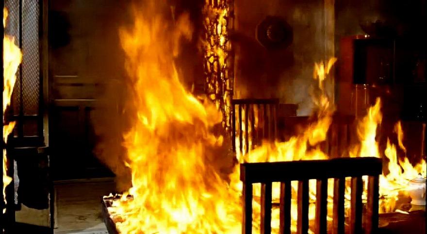 В Киеве 20-летние парни сожгли квартиру вместе со своим убитым другом