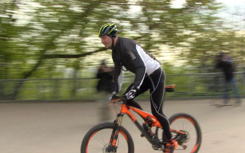 Кличко задумал провести велосипедный эксперимент