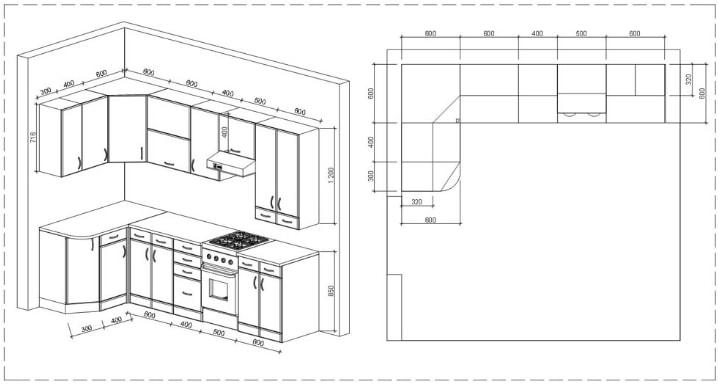 Изготовление кухни своими руками чертежи