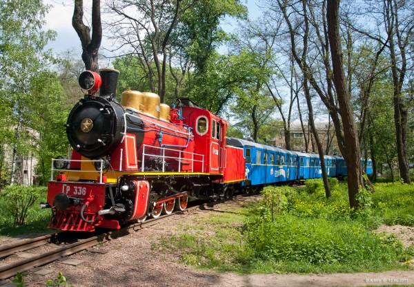 В Киеве начинается новый сезон детских путешествий по железной дороге