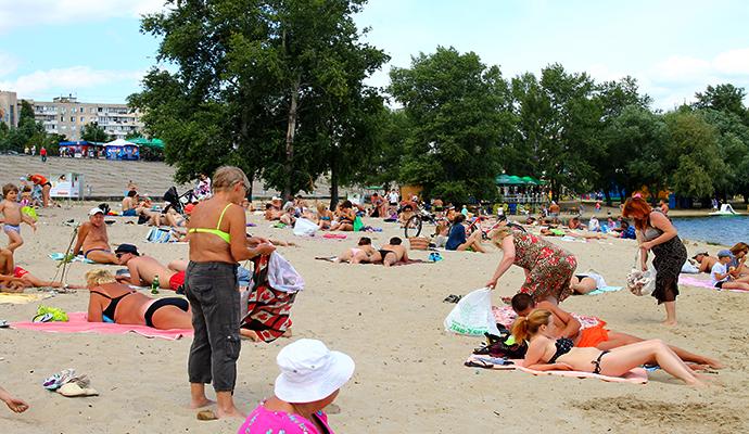 Киевляне смогут отдохнуть и покупаться на 11-ти пляжах