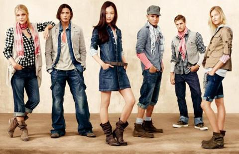 Мужская одежда из Америки доступна для покупки