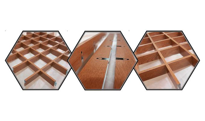 Решётчатые подвесные потолки Грильято: практично, красиво и недорого