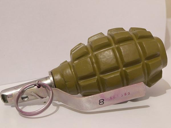 На детской площадке в песочнице нашли боевую гранату