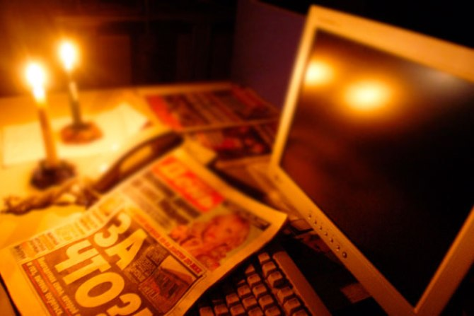 В Херсонской области 2 села остались без света
