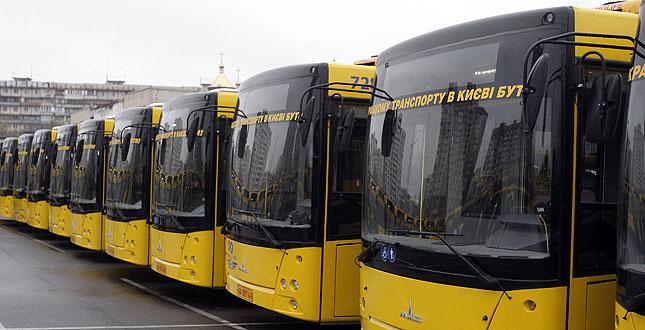 В КГГА решили прикупить еще 220 единиц транспорта