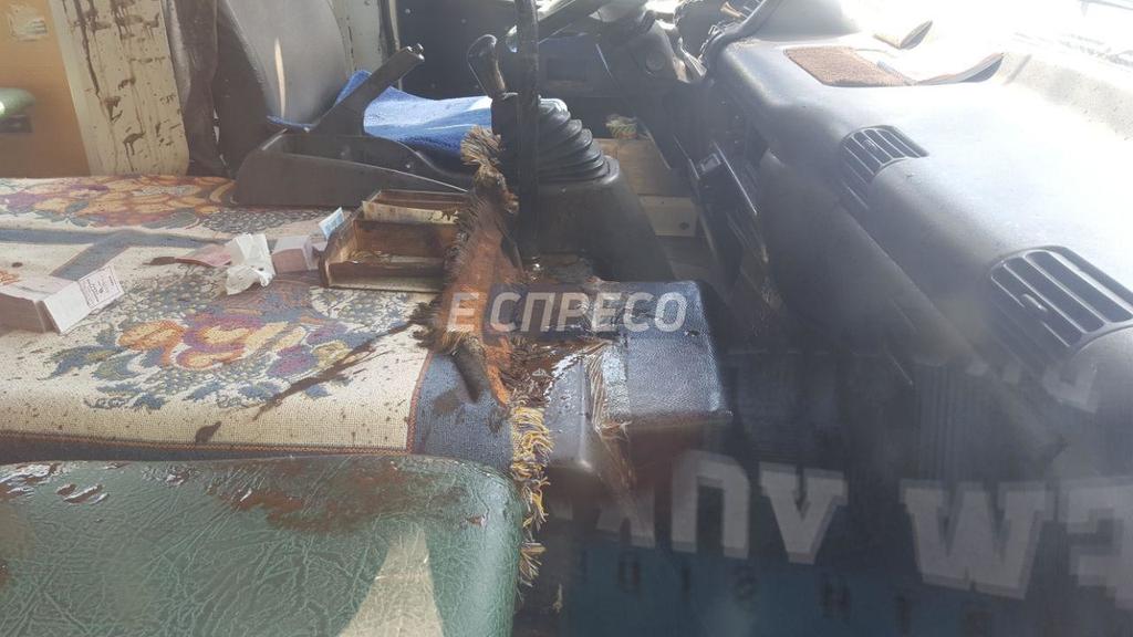 В Киеве взорвалась маршрутка. Есть раненые