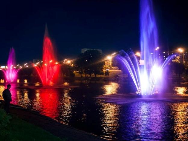 На Русановке вскоре заработают 12 светомузыкальных фонтанов