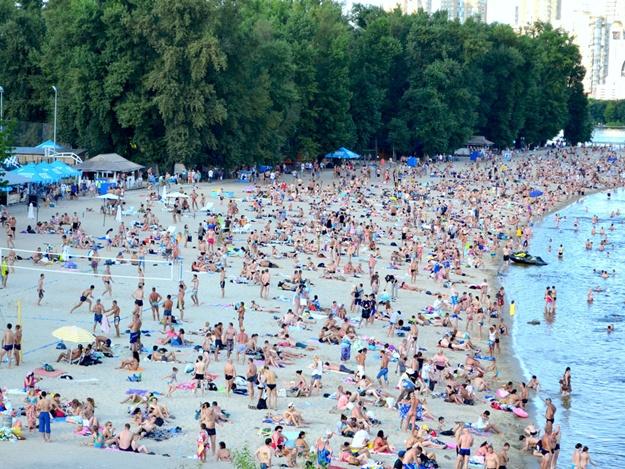 Где в Киеве нежелательно купаться?
