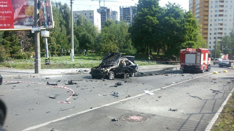 Российский след? Теракт в Киеве: взорвался автомобиль. Погиб военнослужащий