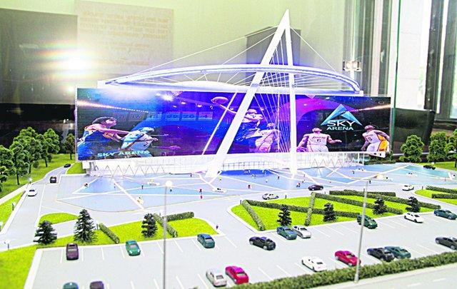 В Киеве появится спортивная площадка-трансформер
