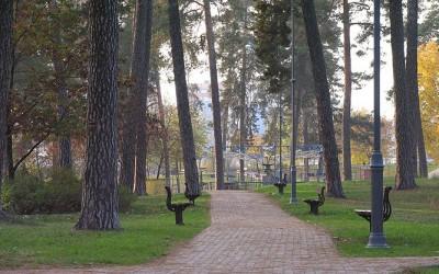 В Киеве реконструируют парк Партизанской славы