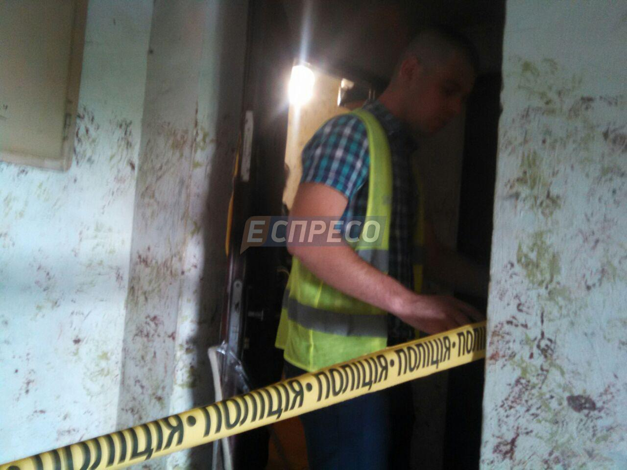 В Киеве пьяный отец зарезал своего сына